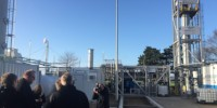 Lars Christian Lilleholt åbnede biogasparken i Avedøre